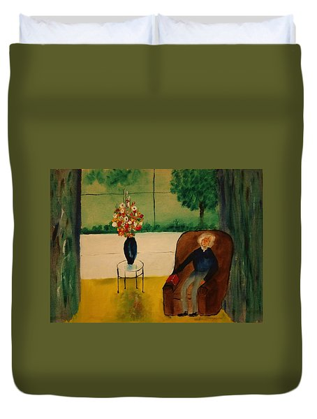 Henry Thoreau Duvet Cover