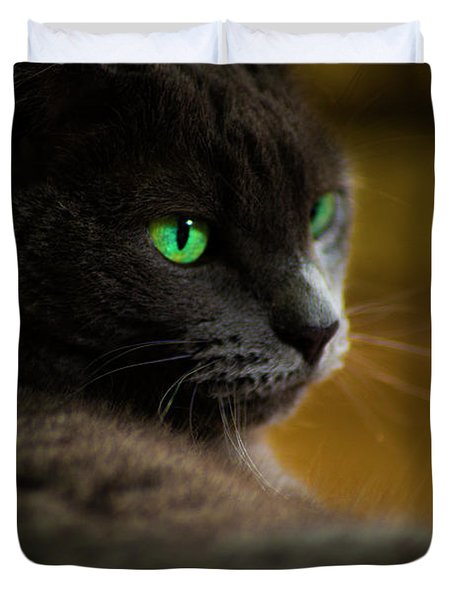 The Eyes Have It Duvet Cover