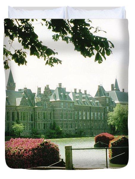 Her Majesty's Garden Duvet Cover