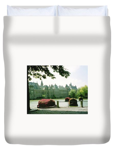 Her Majesty's Garden Duvet Cover