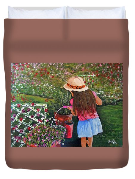 Her Secret Garden Duvet Cover