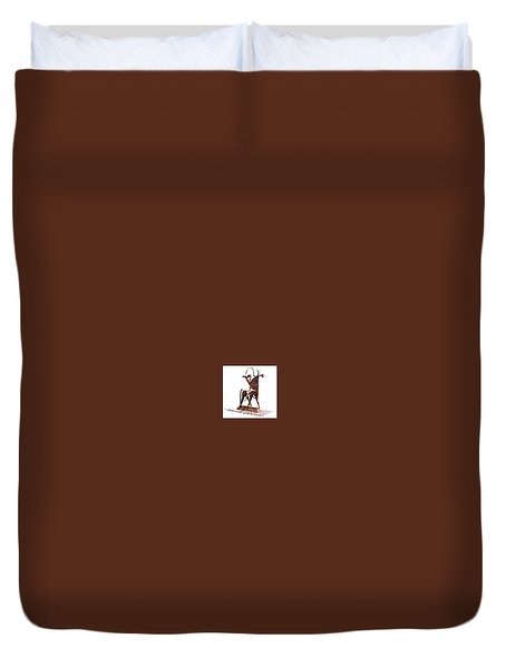 Herald 2 Duvet Cover by Al Goldfarb
