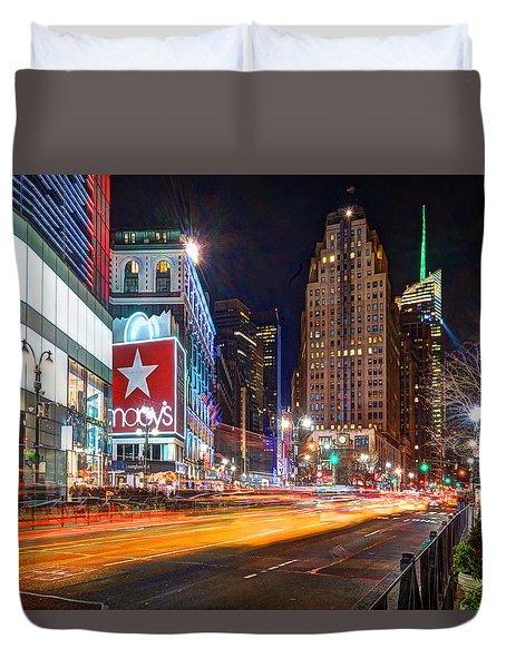 Herald Square 034 Duvet Cover
