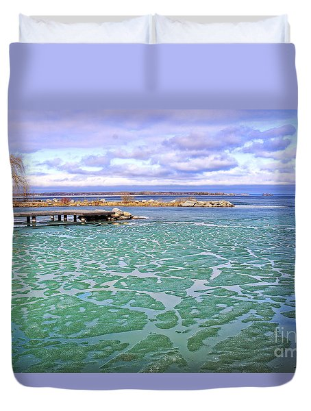 Duvet Cover featuring the photograph Heralds Of Spring by Charline Xia