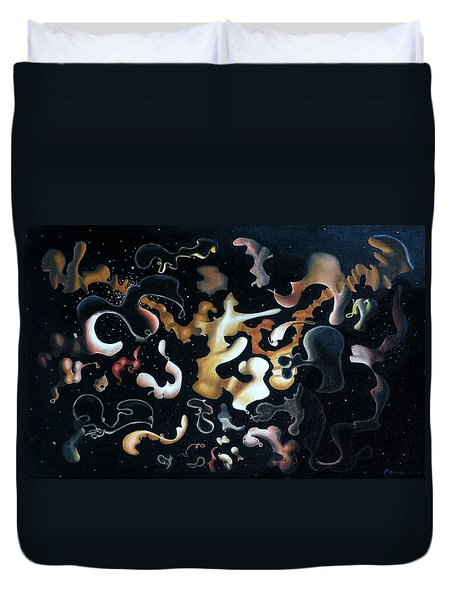Herculean Construction Duvet Cover by Dave Martsolf