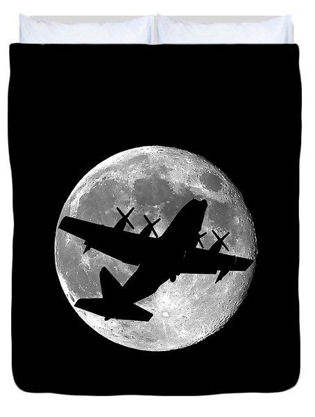 Hercules Moon .png Duvet Cover