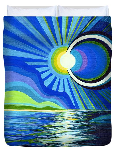 Here Come The Sun Duvet Cover