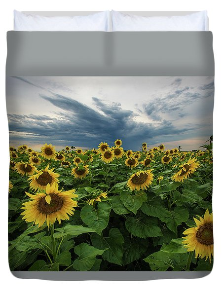 Here Comes The Sun Duvet Cover by Aaron J Groen