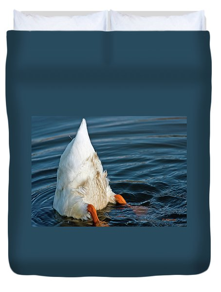 Here Is What I Think Duvet Cover