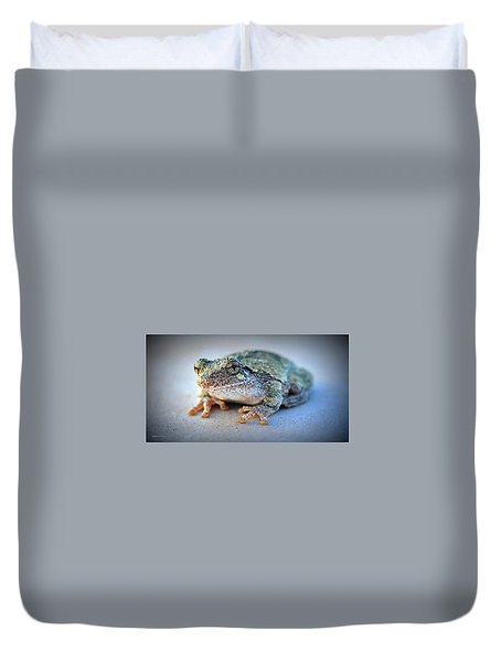 Here's Looking At You Duvet Cover