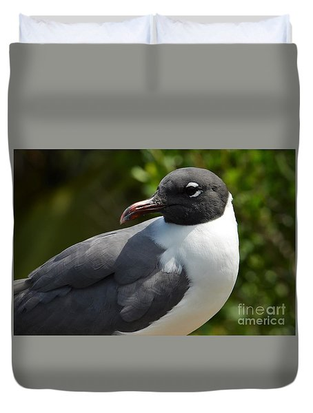 Duvet Cover featuring the photograph Here's My Profile by Pamela Blizzard