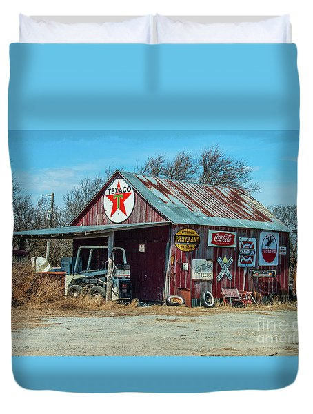 Here's Your Sign Duvet Cover