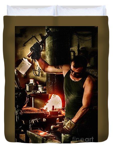 Heritage Blacksmith Duvet Cover