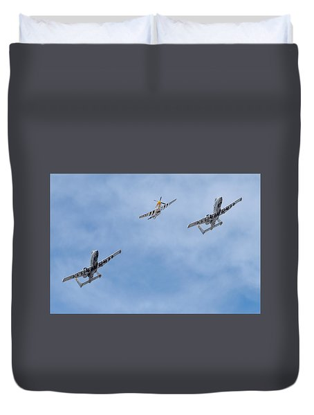 Heritage Flight Training Duvet Cover