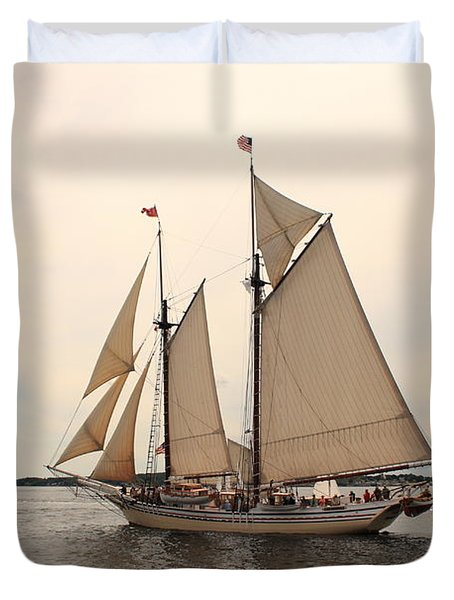 Heritage In Penobscot Bay Duvet Cover