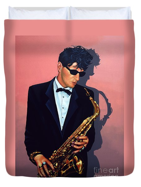 Herman Brood Duvet Cover