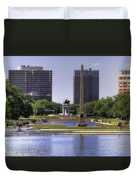 Hermann Park Duvet Cover