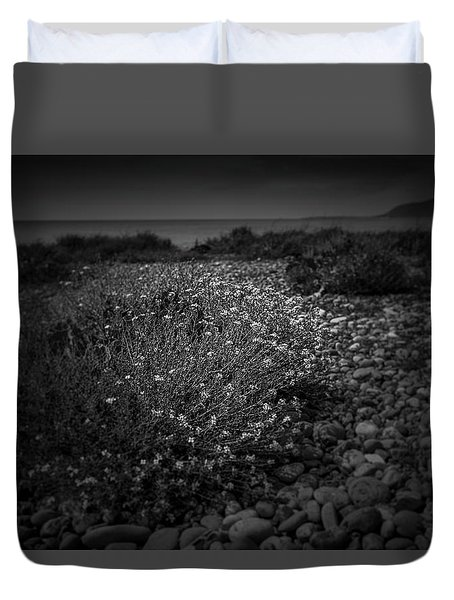 Hernsea Bay And Black Combe Duvet Cover