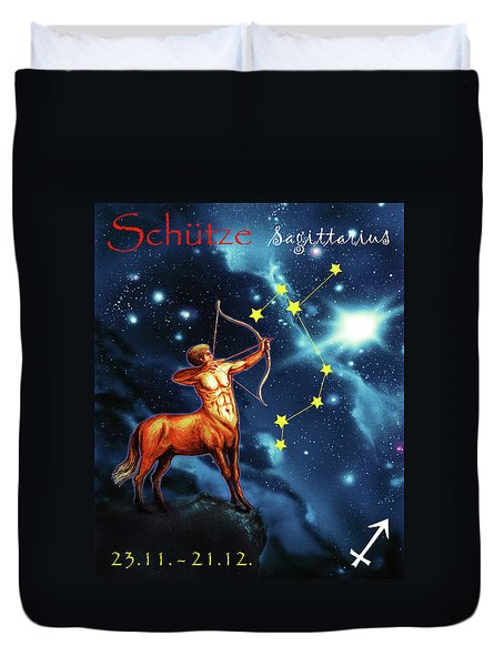 Hero Of The Stars Duvet Cover