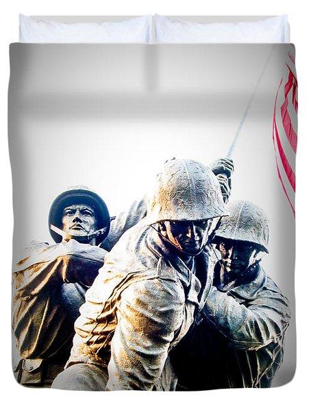 Heroes Duvet Cover