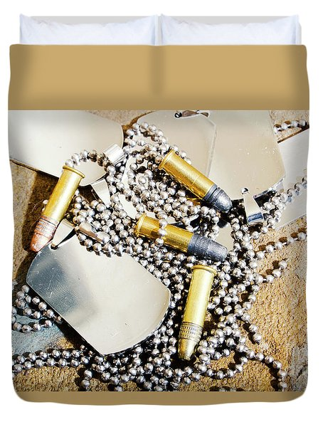 Heroes Of Service Duvet Cover