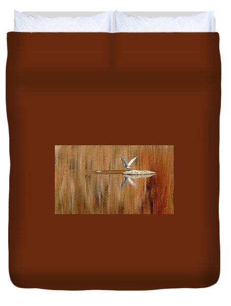 Heron Tapestry Duvet Cover