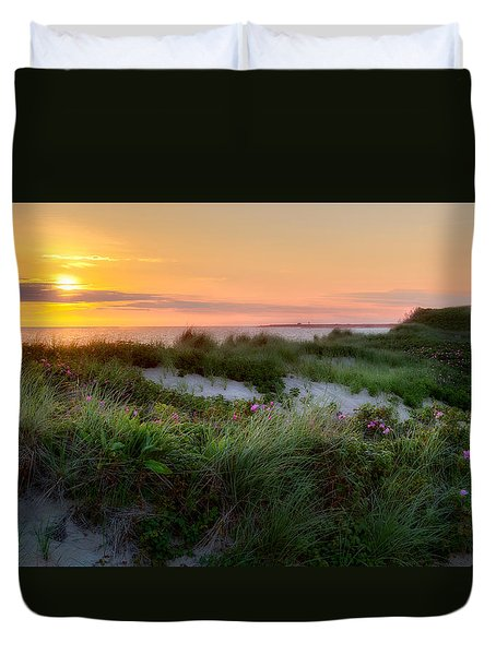 Herring Cove Beach Duvet Cover