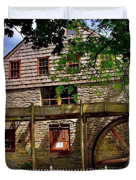 Herr's Grist Mill Duvet Cover