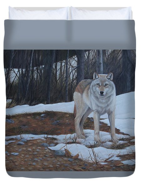 Hesitation Duvet Cover