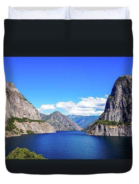 Hetch Hetchy Reservoir Yosemite Duvet Cover