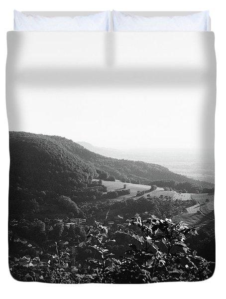 Heubach View Towards Scheuelberg Duvet Cover