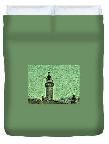 Heublein Tower Duvet Cover