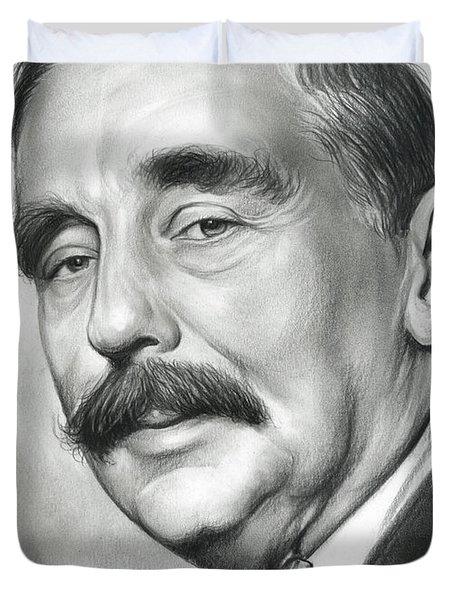 H.g. Wells Duvet Cover
