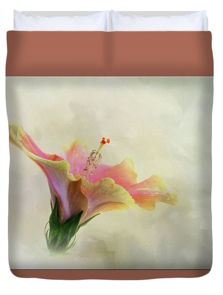 Hibiscus Art Duvet Cover