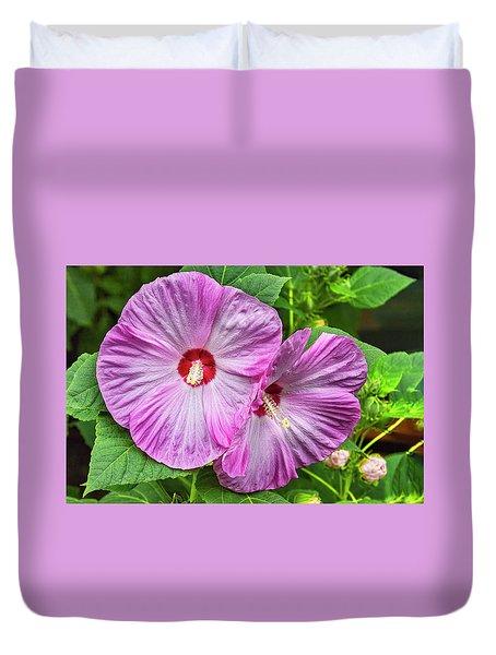 Hibiscus Beauty Duvet Cover