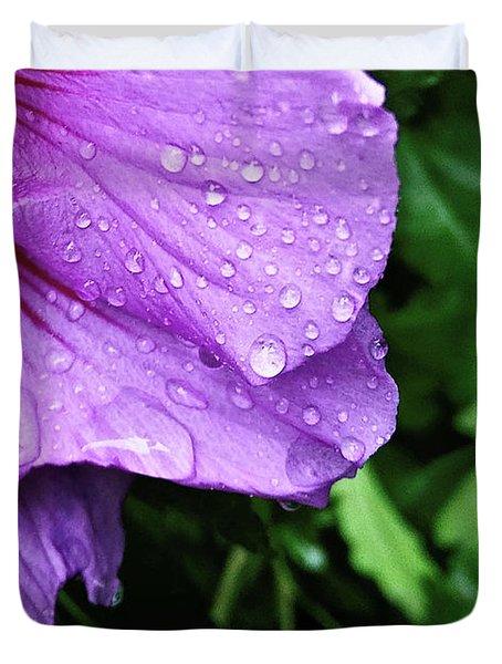 Hibiscus Corner Duvet Cover