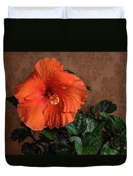 Hibiscus Fine Art Duvet Cover