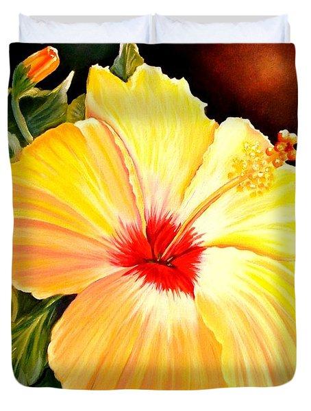 Hibiscus Glory Duvet Cover