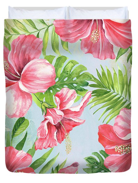 Hibiscus Paradise-jp3965 Duvet Cover