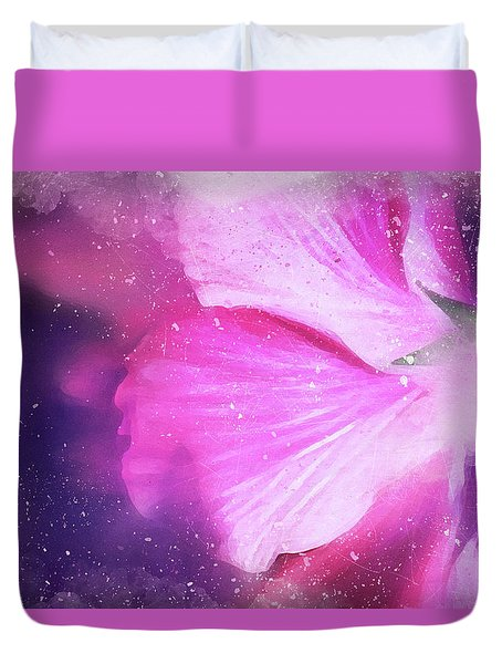 Hibiscus Scatter Duvet Cover