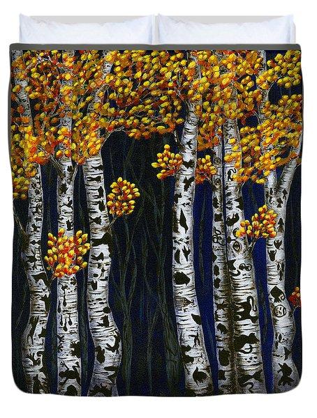 Hidden Autumn  Duvet Cover