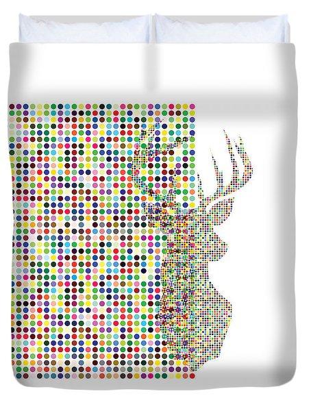 Hidden Deer Duvet Cover