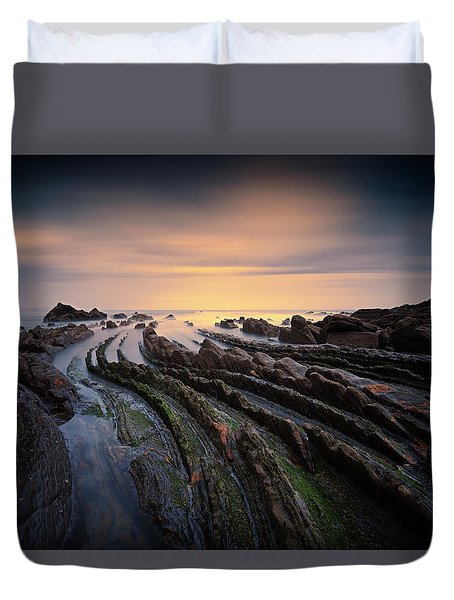 Hidden Dragon Tails Duvet Cover