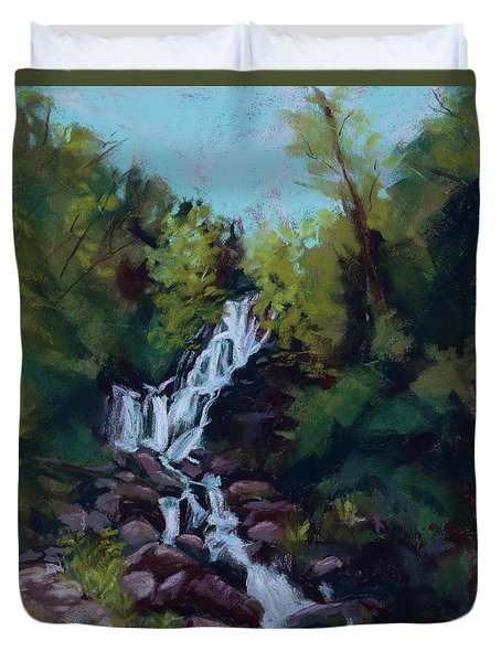 Hidden Falls Duvet Cover