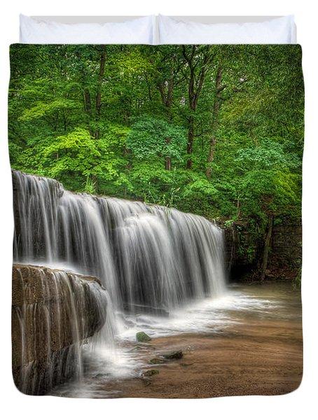 Hidden Falls  Duvet Cover