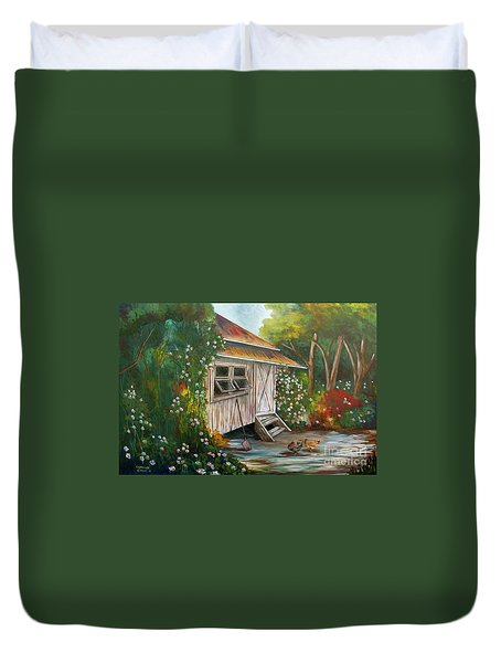 Hidden Garden Duvet Cover