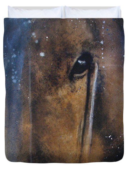 Hidden Horse Duvet Cover