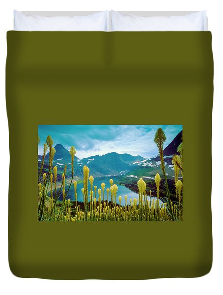 Hidden Lake, Gnp Duvet Cover