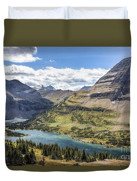 Hidden Lake Overlook Duvet Cover