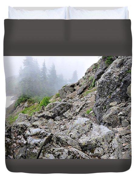 Hidden Marmot Duvet Cover